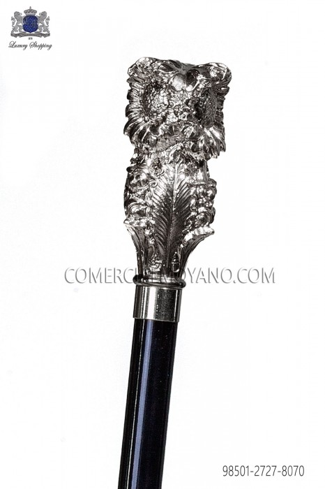 Cane with silver handle 98501-2727-8070 Ottavio Nuccio Gala.