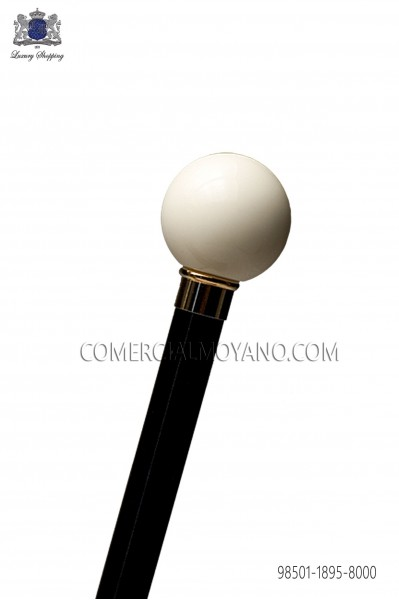 Cane with ivory handle