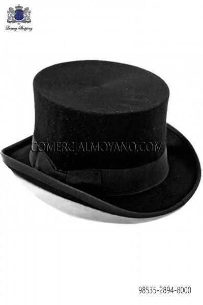 Sombrero de copa negro 98535-2894-8000 Ottavio Nuccio Gala.