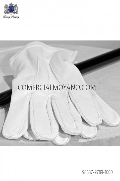Guantes blanco 98537-2789-1000 Ottavio Nuccio Gala.