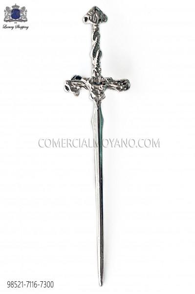 Broche para solapa espada gótica 98521-7116-7300 Ottavio Nuccio Gala.