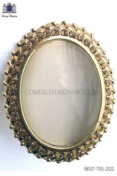 Golden cameo clasp 98507-7105-2020 Ottavio Nuccio Gala.