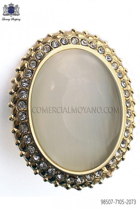 Golden clasp with ivory cameo 98507-7105-2073 Ottavio Nuccio Gala.