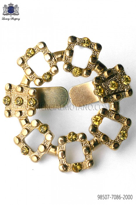 Gold-tone metal clasp 98507-7086-2000 Ottavio Nuccio Gala.