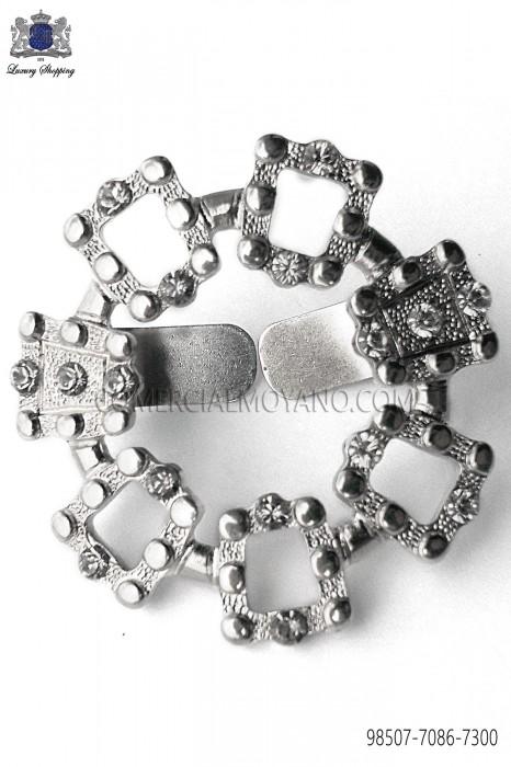 Nickel metal clasp 98507-7086-7300 Ottavio Nuccio Gala.