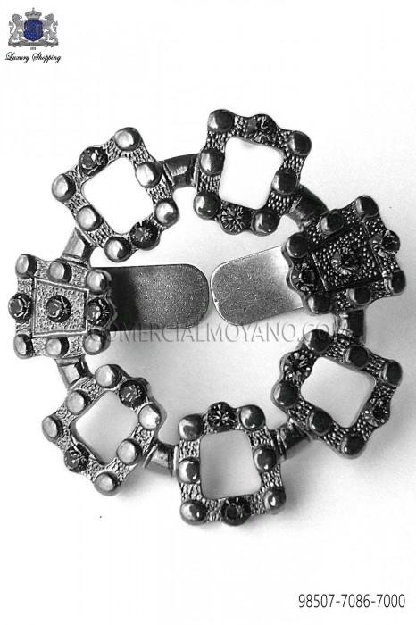 Gunmetal grey clasp 98507-7086-7000 Ottavio Nuccio Gala.