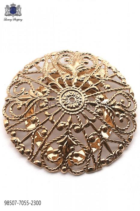Copper baroque clasp 98507-7055-2300 Ottavio Nuccio Gala.