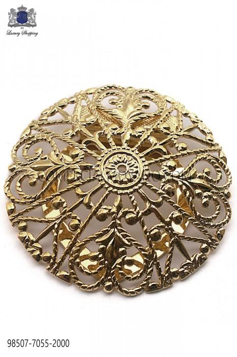 Gold baroque clasp 98507-7055-2000 Ottavio Nuccio Gala.