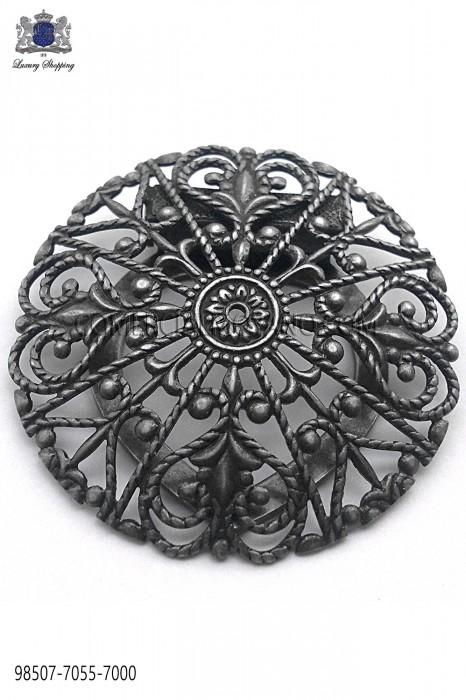 Dark silver baroque clasp 98507-7055-7000 Ottavio Nuccio Gala.