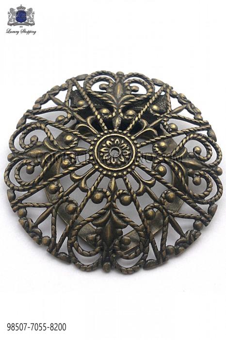 Old gold baroque clasp 98507-7055-8200 Ottavio Nuccio Gala.