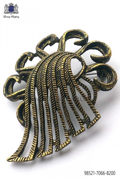 Old gold baroque clasp 98521-7066-8200 Ottavio Nuccio Gala.