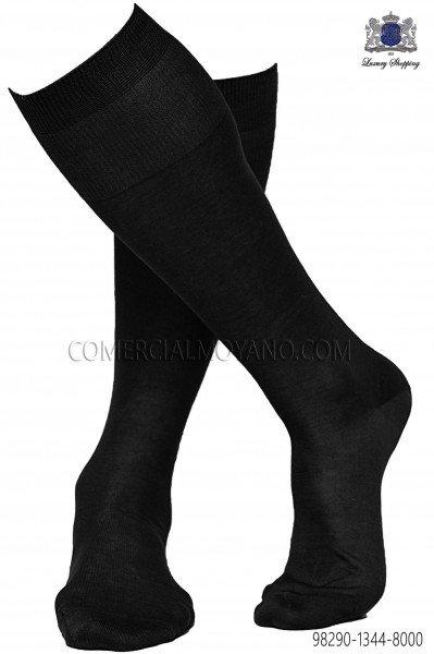 Black socks 98290-1344-8000 Ottavio Nuccio Gala.