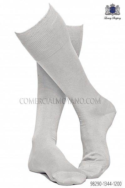Ivory socks 98290-1344-1200 Ottavio Nuccio Gala.
