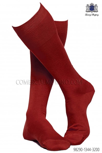 Red socks 98290-1344-3200 Ottavio Nuccio Gala.