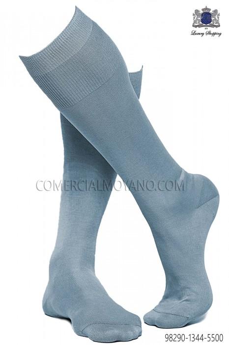 Sky blue socks 98290-1344-5500 Ottavio Nuccio Gala.