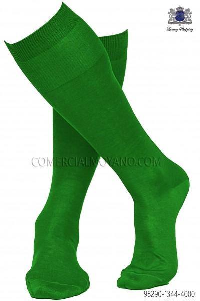 Green socks 98290-1344-4000 Ottavio Nuccio Gala.