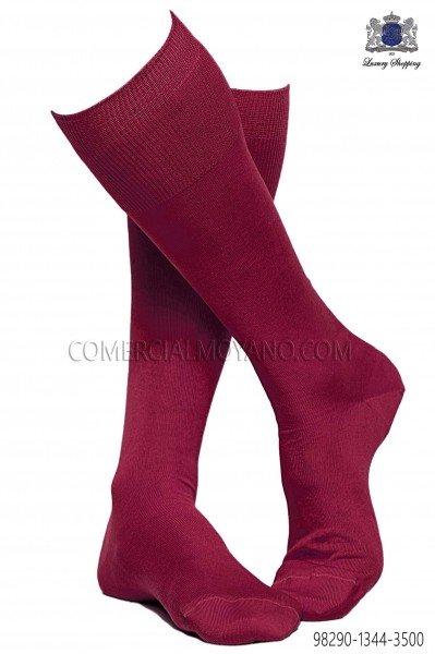 Fuchsia socks 98290-1344-3500 Ottavio Nuccio Gala.