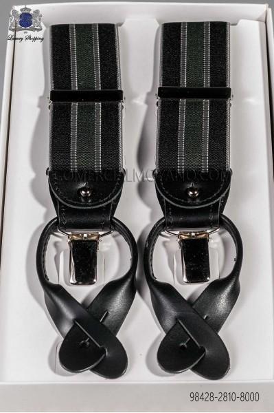 Black classic elastic braces 98428-2810-8000