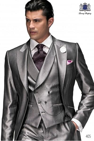 Ascot with black handkerchief fashion 2835-8500 Ottavio Nuccio Gala.