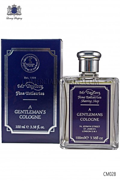 English Perfume for men with elegant and exclusive men's fragrance 100 ml. Taylor of Old Bond Street.