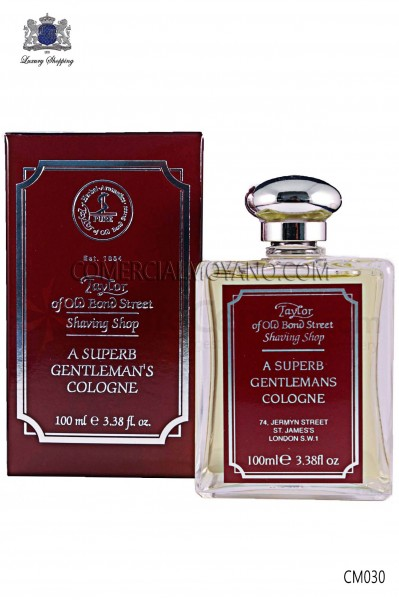 Perfume inglés para caballeros con exclusiva fragancia clásica 100 ml. Taylor of Old Bond Street.