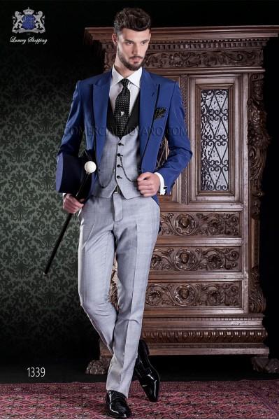 "Italian tailoring tuxedo 2 rooms, with elegant cut ""Slim"", an opening."