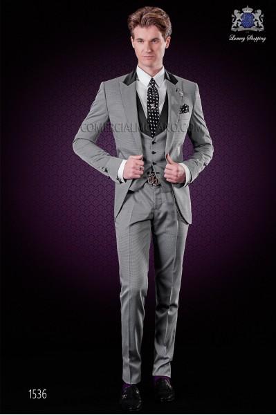 Traje de novio gris, traje de moda, italiano Ottavio Nuccio Gala