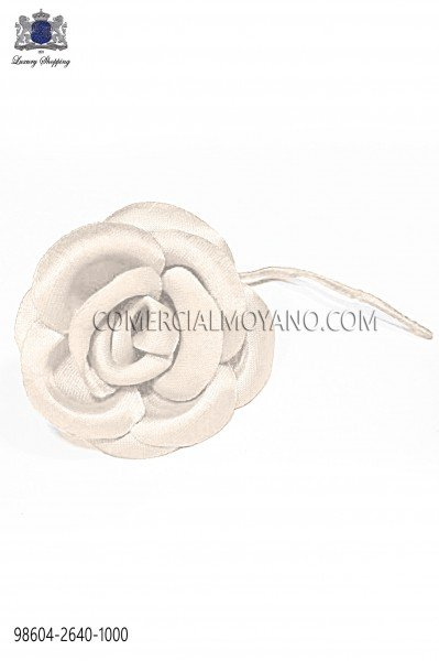 Off-White satin flower