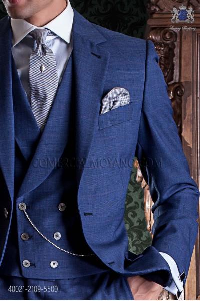 Sky blue cotton shirt 40021-2109-5500 Ottavio Nuccio Gala.