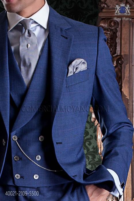 Sky blue cotton shirt 40021-2109-5500 Ottavio Nuccio Gala