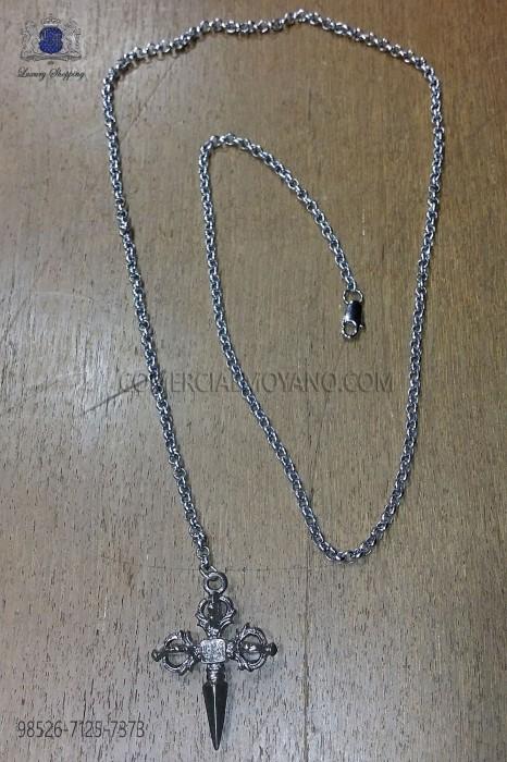 Chain with sword pendant Ottavio Nuccio Gala.