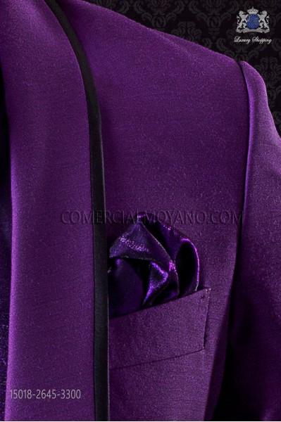 Purple handkerchief 15018-2645-3300 Ottavio Nuccio Gala.