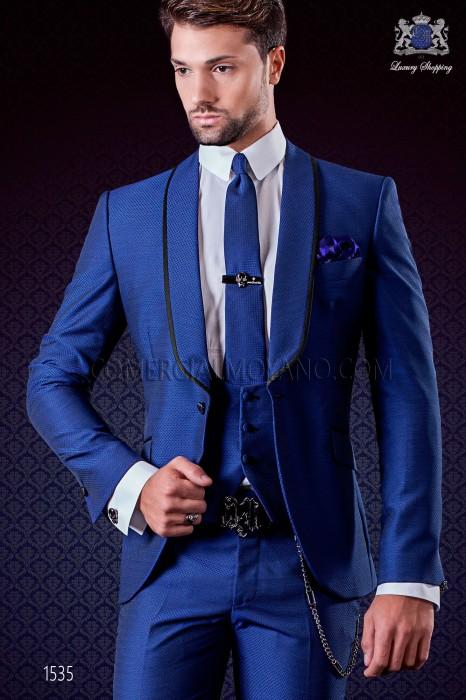 smoking anzug blau