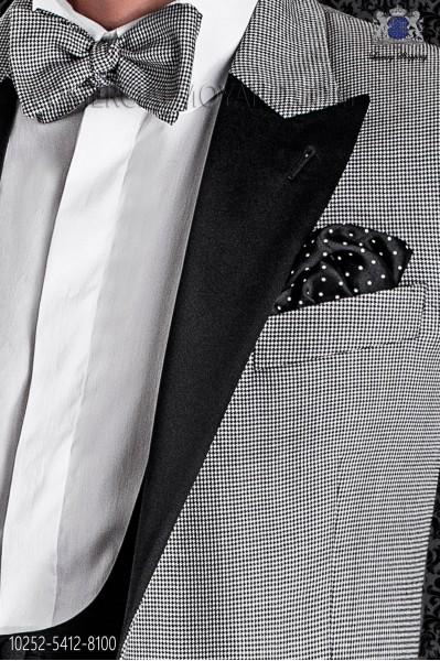 Hound´s tooth cloth design bow tie