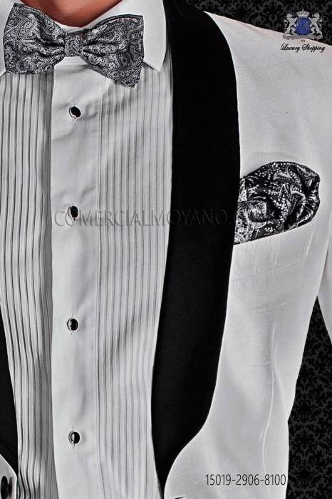 Printed silk pocket handkerchief