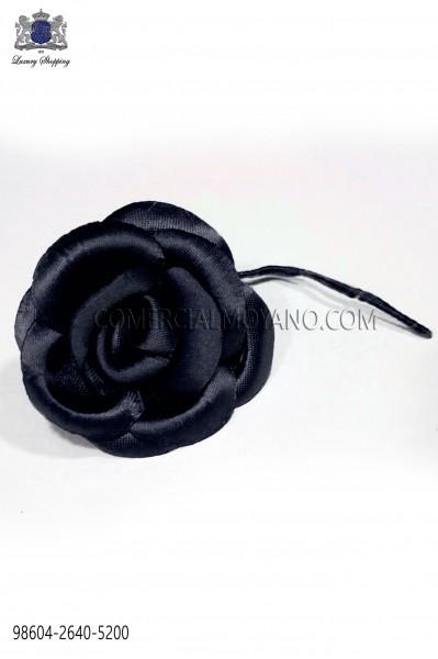 Flor raso azul marino noche 98604-2640-5200 Ottavio Nuccio Gala