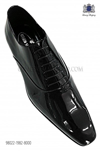 Black patent leather Francesina shoes 98022-1982-8000 Ottavio Nuccio Gala