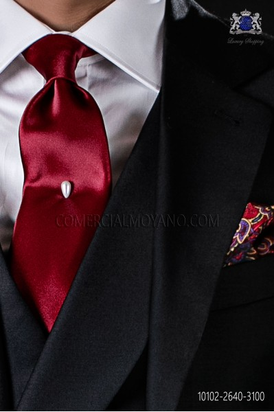 Red Satin tie