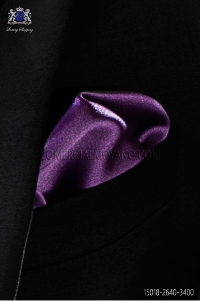 Mauve pocket handkerchief