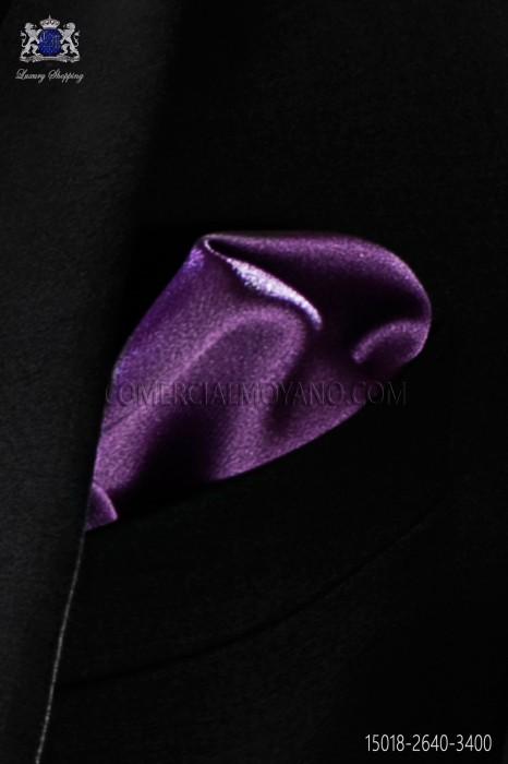 Mauve pocket handkerchief