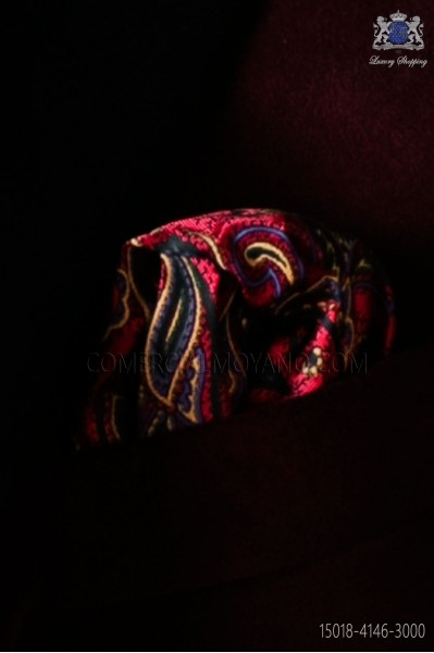 Paisley design pocket handkerchief