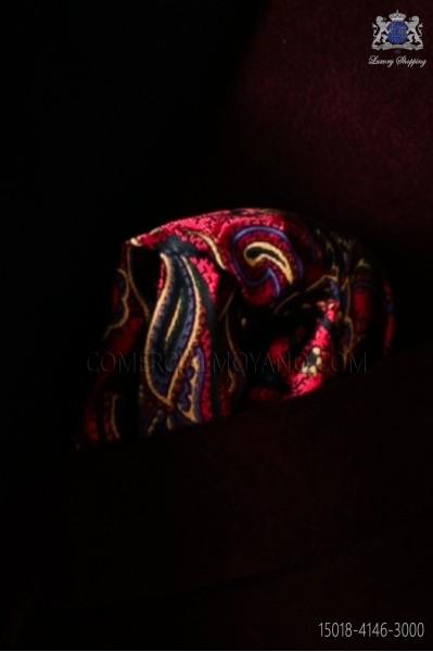 Paisley design pocket handkerchief