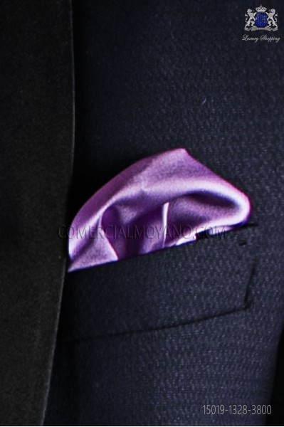Lilac Pocket Handkerchief