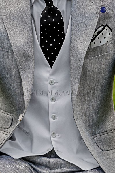 Cotton white waiscoat