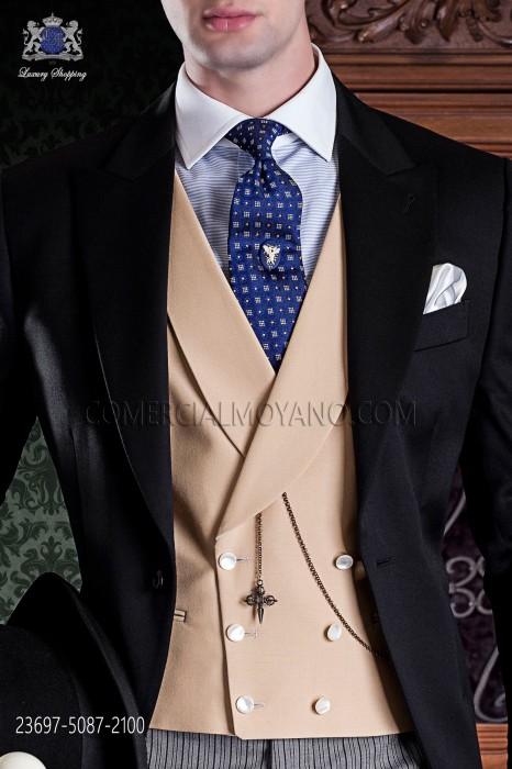 Albero groom double-breasted waistcoat
