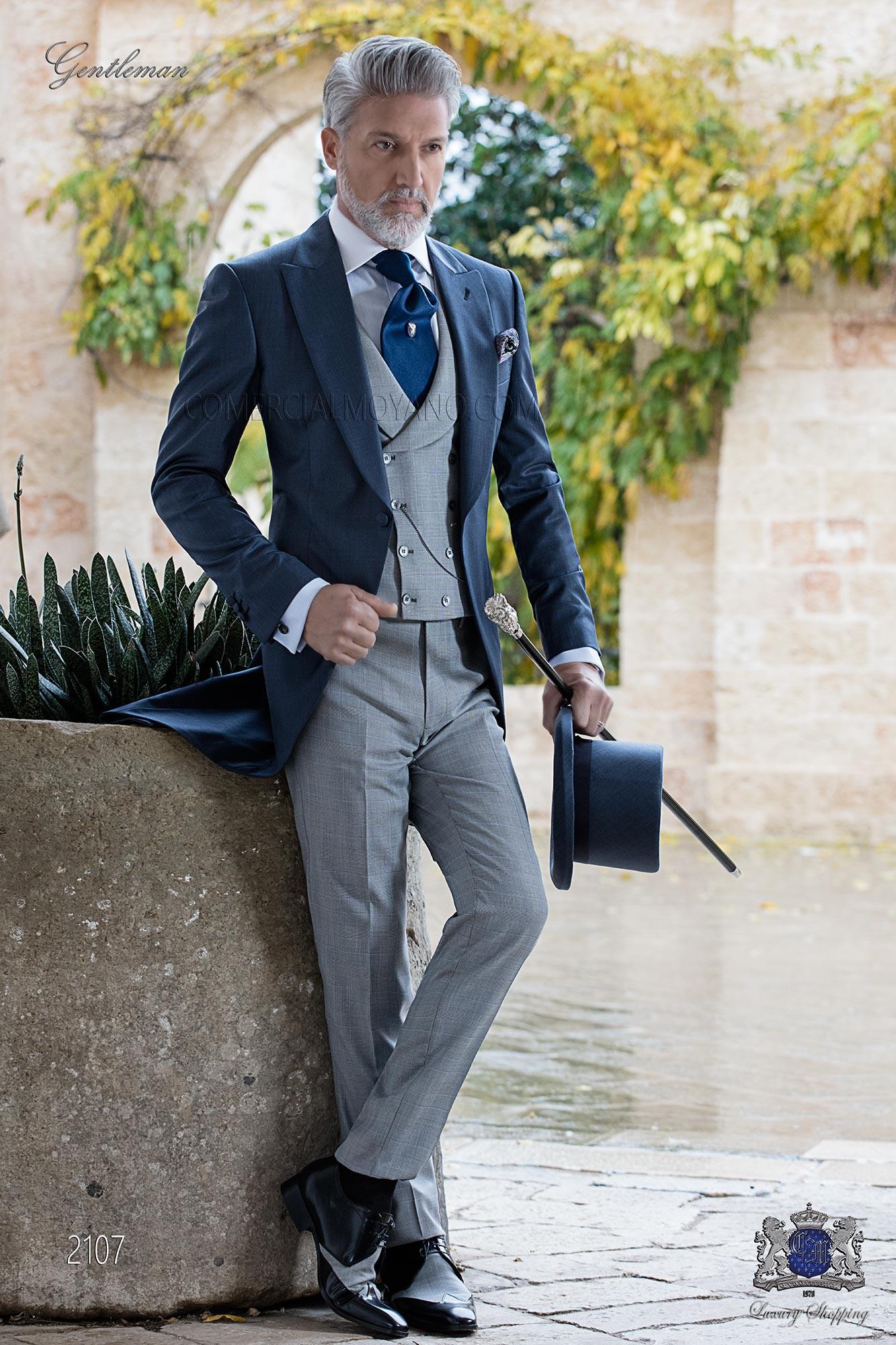 Italian bespoke men wedding suits Gentleman 2018 Collection Ottavio ...