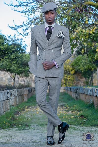 Costume homme croisé ''Prince of Walles''