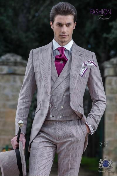 Taje de novio semilevita de novio príncipe de gales borgoña
