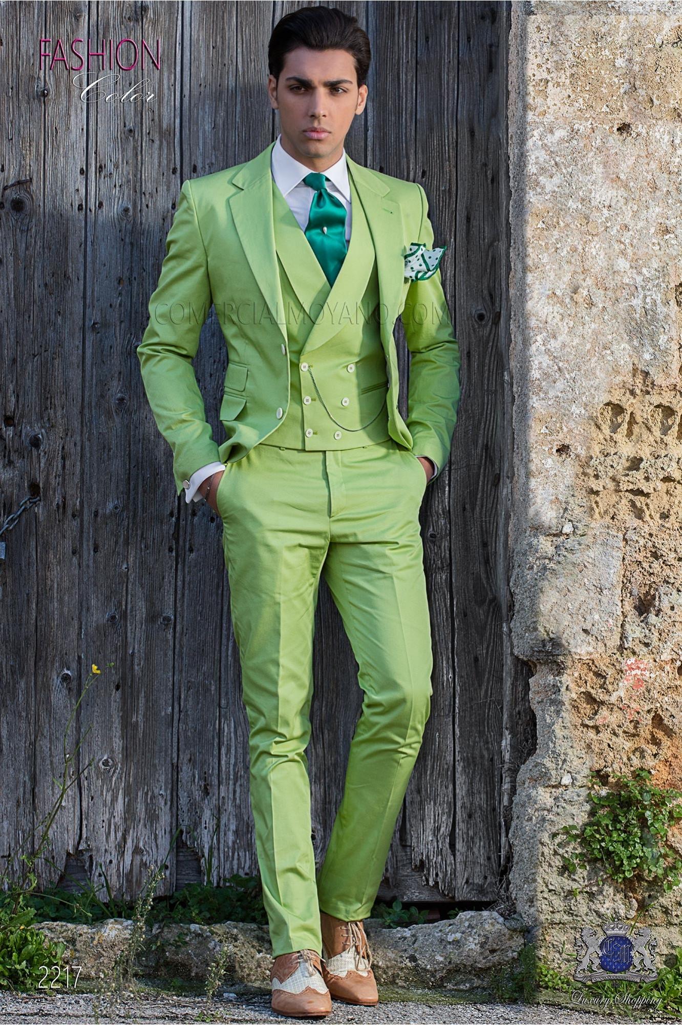 Suit modern Italian style