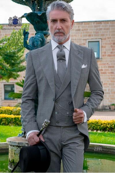 Jaquette de mariage Prince of Wales gris